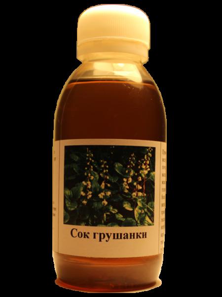 Сок грушанки. Сок грушанки. Экстракт из листьев, стебля, цветов и корней грушанки круглолистной.