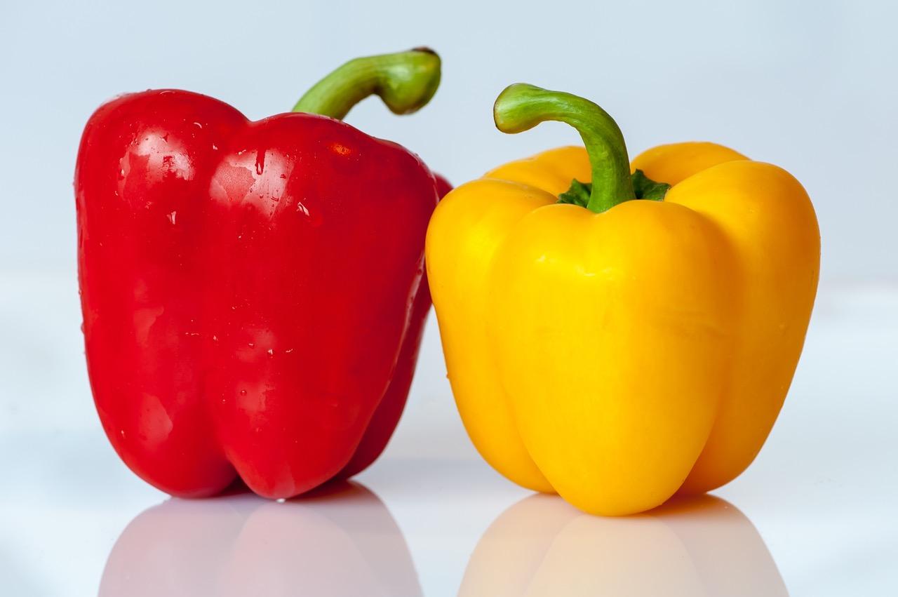 Оранжевый сладкий перец содержит больше зеаксантина, чем любая другая натуральная пища.