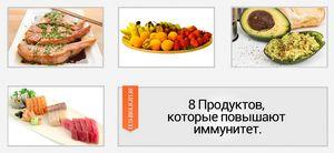8 продуктов для иммунитета
